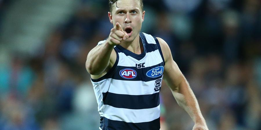 Time moves on quickly in the AFL says Cats star Mitch Duncan