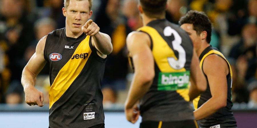 Riewoldt, Deledio give Tigers a big boost