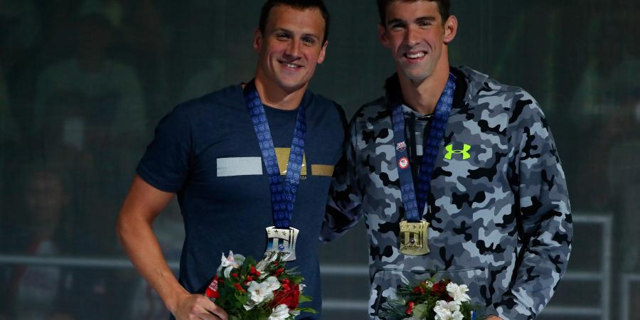 The end of an era: Michael Phelps and Ryan Lochte