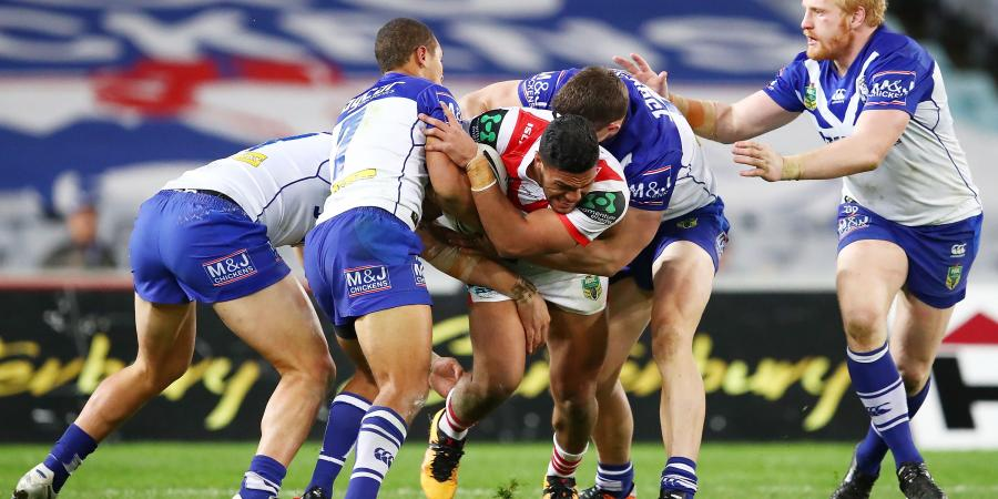 Bulldogs hold out Dragons in thriller