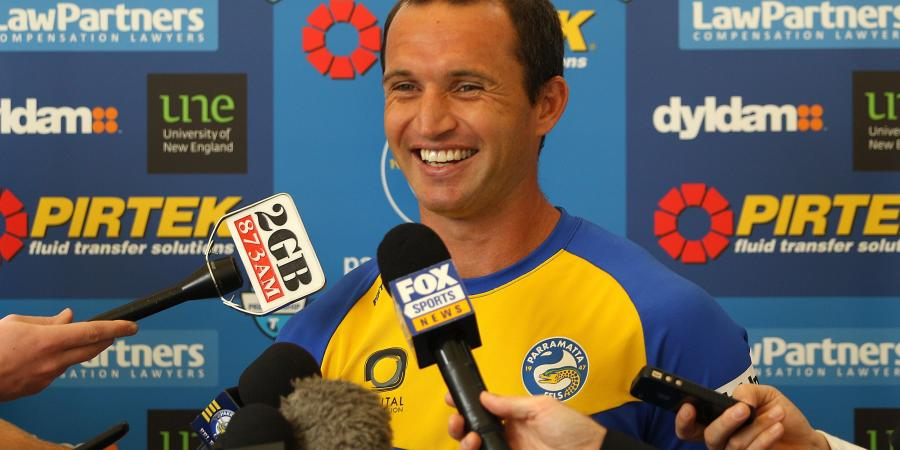 Luke Burt confident Eels can replace Foran