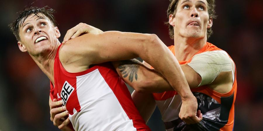 Swans, Giants make their move
