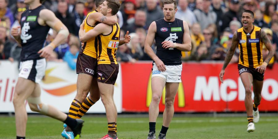 Young Hawks overcome Carlton