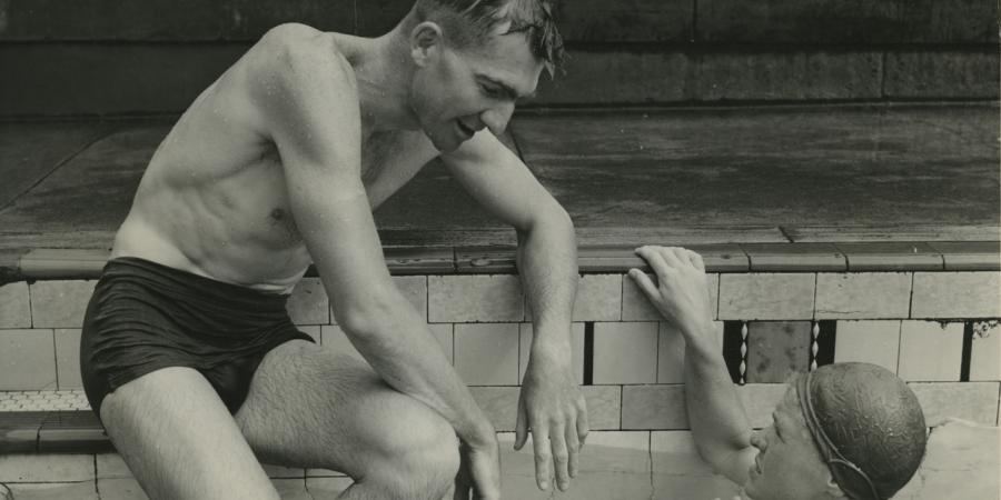 Carlile remembered as swimming pioneer