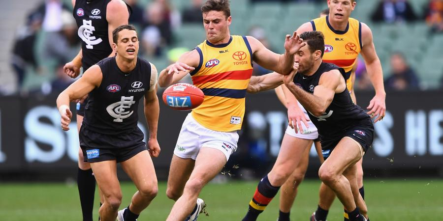 Victorian clubs lining up for young Crows star