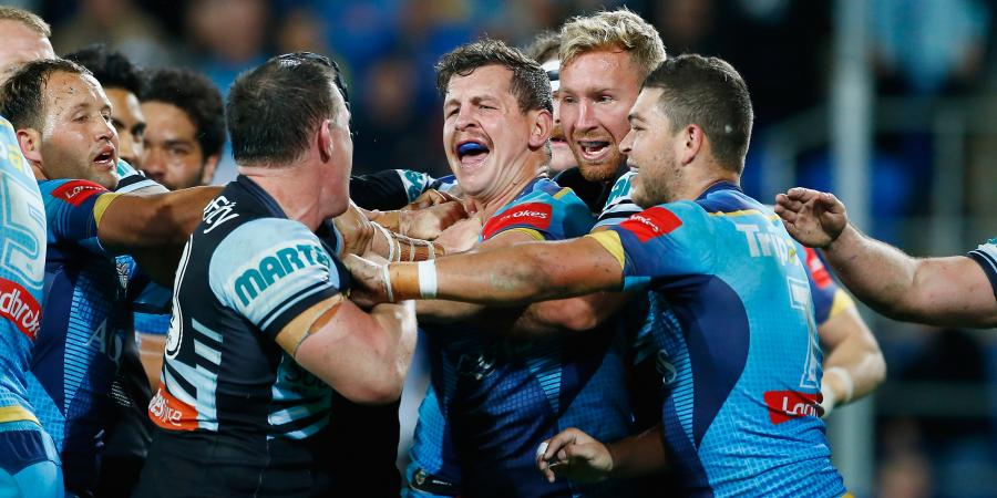 Titans end Sharks win streak with draw