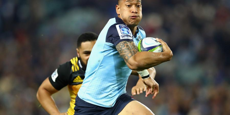 Folau happy in roving role