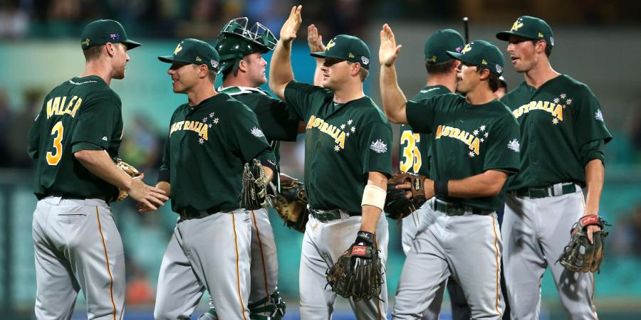Aust baseballers to face world No.1 Japan