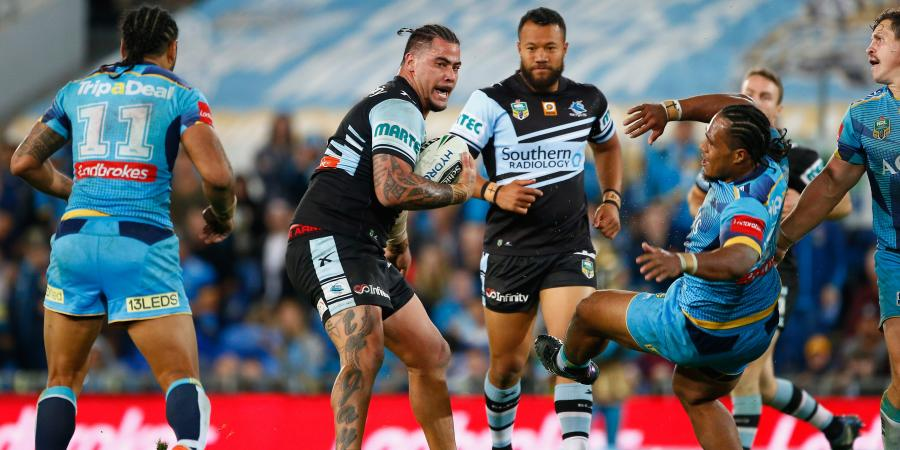 Sharks tell Fifita to control his temper