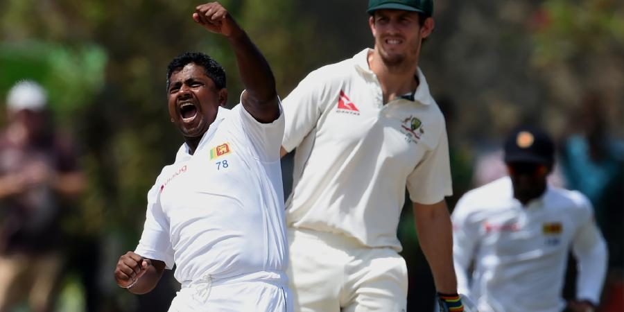 Herath hat-trick sinks Aussies in Galle