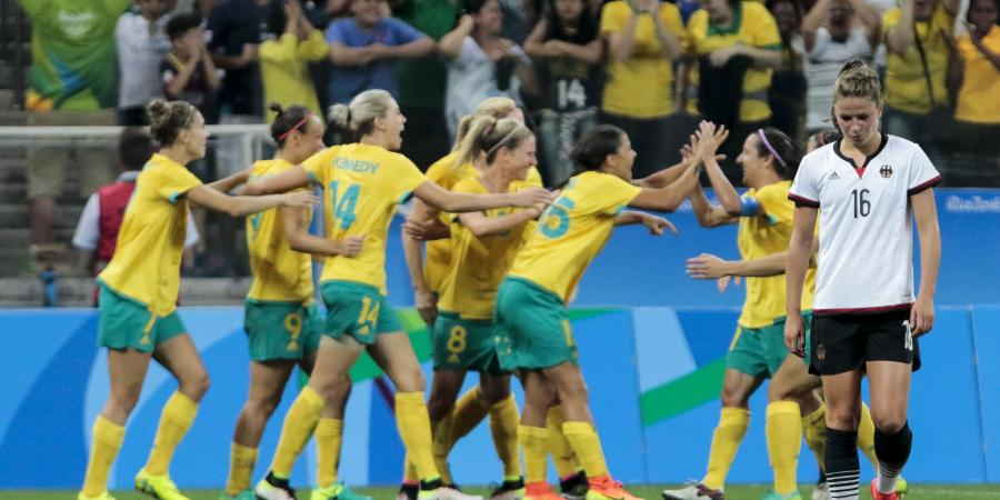 Matildas Bounce Back to give Germany a Fright