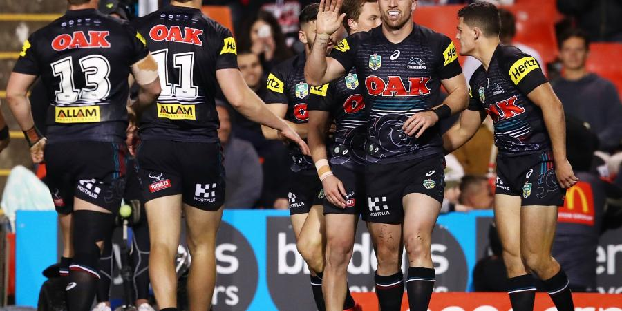 Penrith thrash Roosters, back in top eight