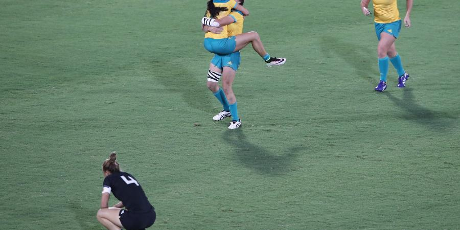 Australia takes Oly gold in women's rugby