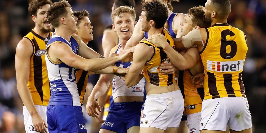 Hawthorn expect niggle from North