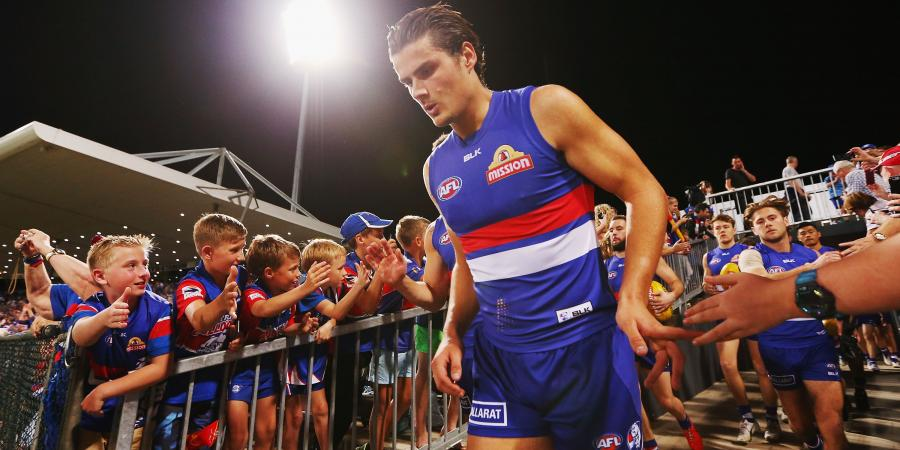 Ruck duo key to Bulldogs' AFL hopes