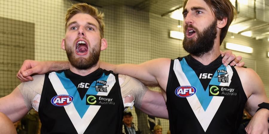 Port's Trengove says AFL finals hopes shot