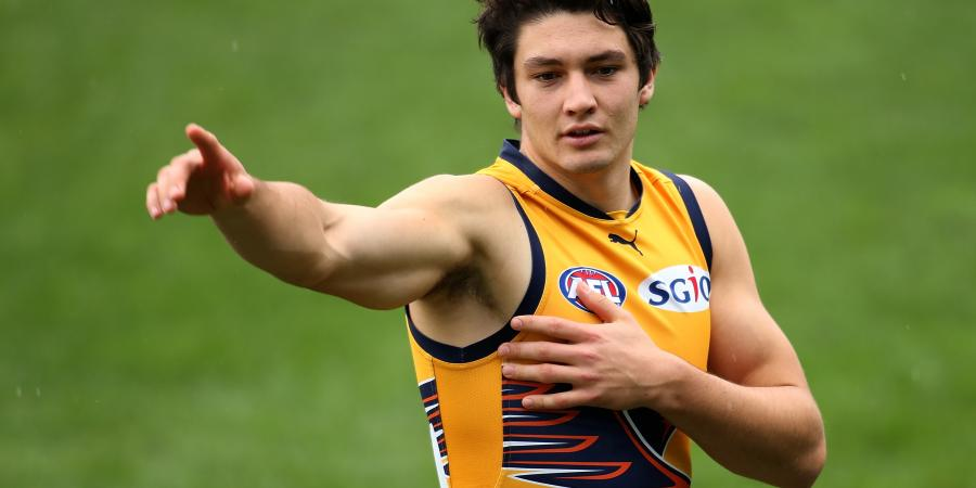 Eagle Barrass an AFL star in the making
