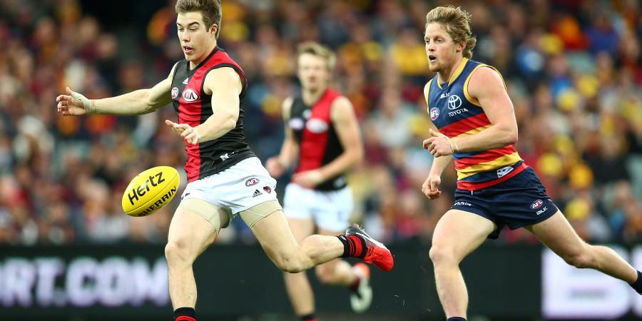 Merrett backs Heppell to lead Dons in AFL