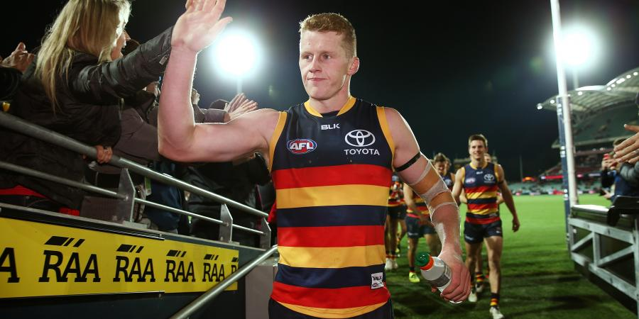 Crows' rookie facing tall task