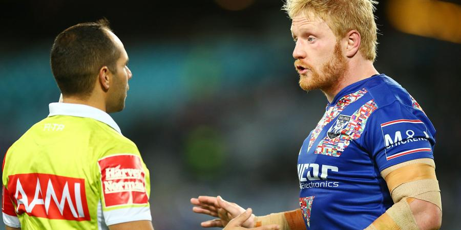 James Graham hit with high tackle charge