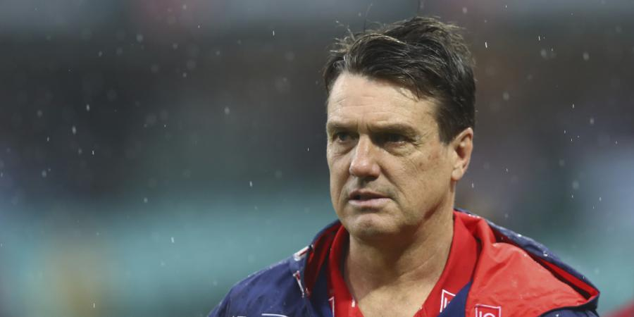 Dees coach Roos not set on AFL finals
