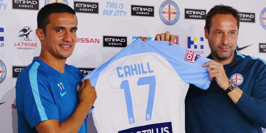 Cahill's son convinced him of A-League