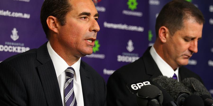 Dockers coach to weed out 'loud minority'