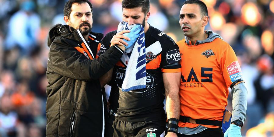 Broken jaw ends Tedesco's NRL season
