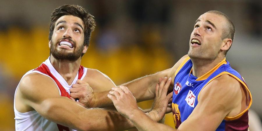 Lions ruckman Trent West retires from AFL