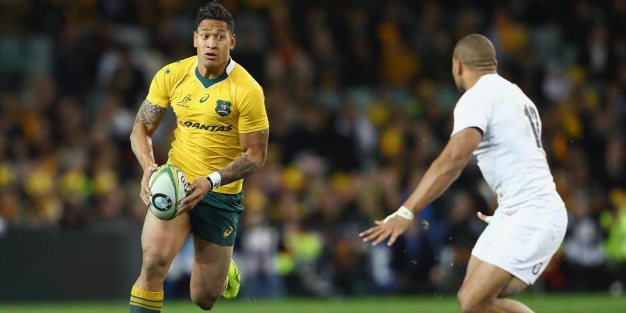 World Cup final is history, says Folau