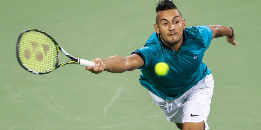 Kyrgios downs Pouille in Cincinnati opener
