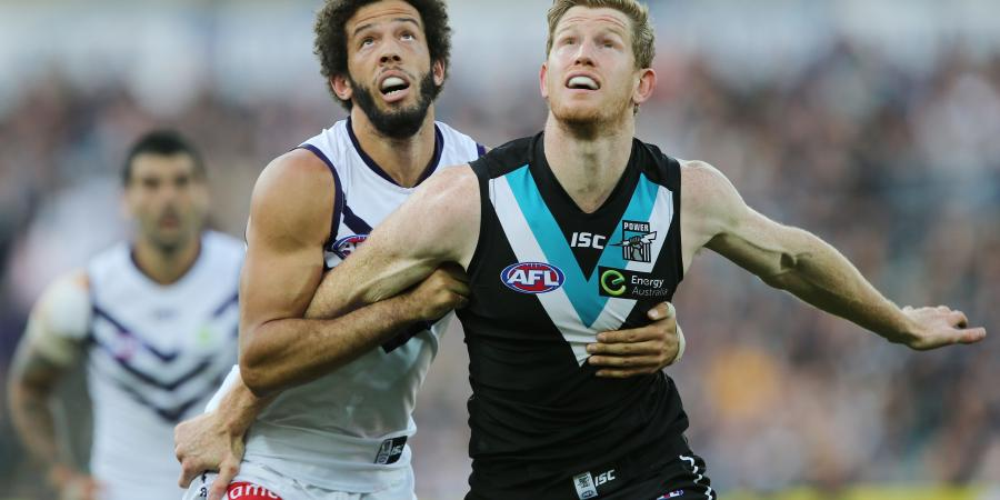 What does Port Adelaide do with Matthew Lobbe?