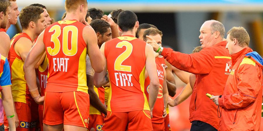 AFL Suns players reveal might of Eade fury