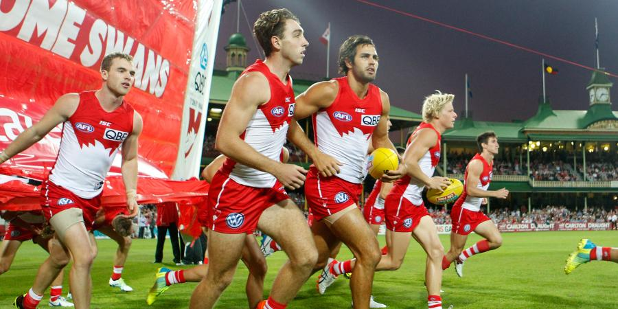 Robinson re-signs with Sydney Swans in AFL