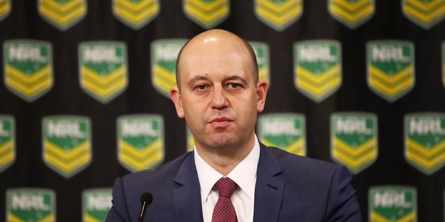 NRL must consider Roberts' history: CEO