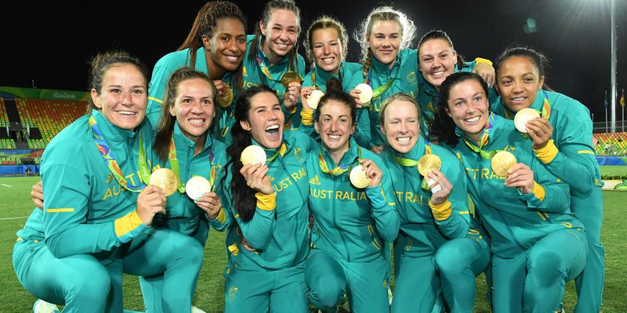 Women's rugby gold to spur next generation