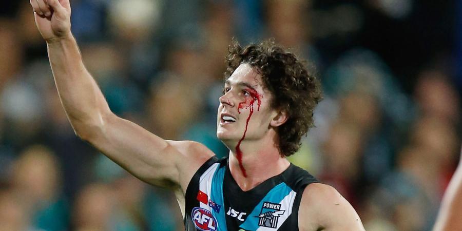 Port rookie Byrne-Jones inks new AFL deal