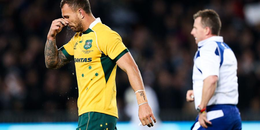 It's not about me, says Wallaby Quade