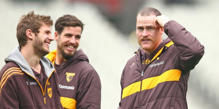 Roughead still helping Hawks in AFL finals