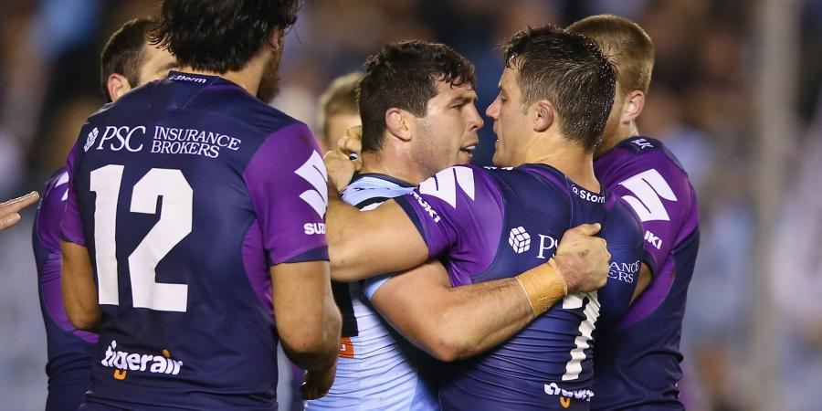 Sharks out to rattle Storm stars