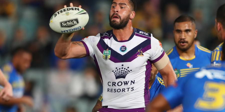 Storm set for bruising NRL blockbuster