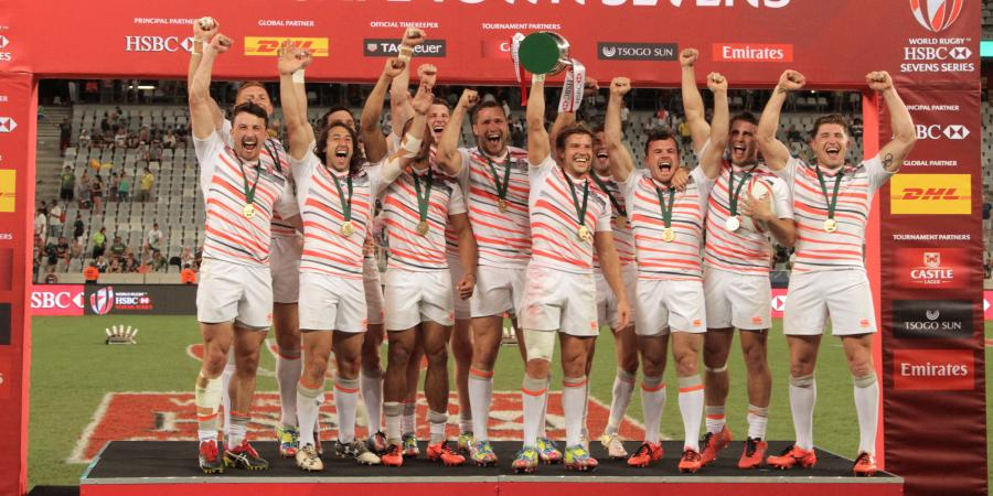 England win Cape Town Sevens