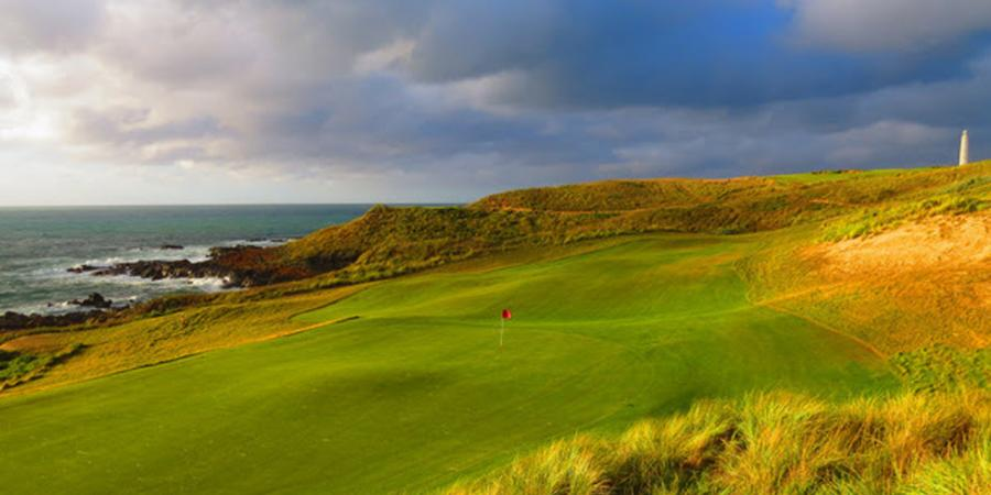 Bass Strait the new golfing hotspot