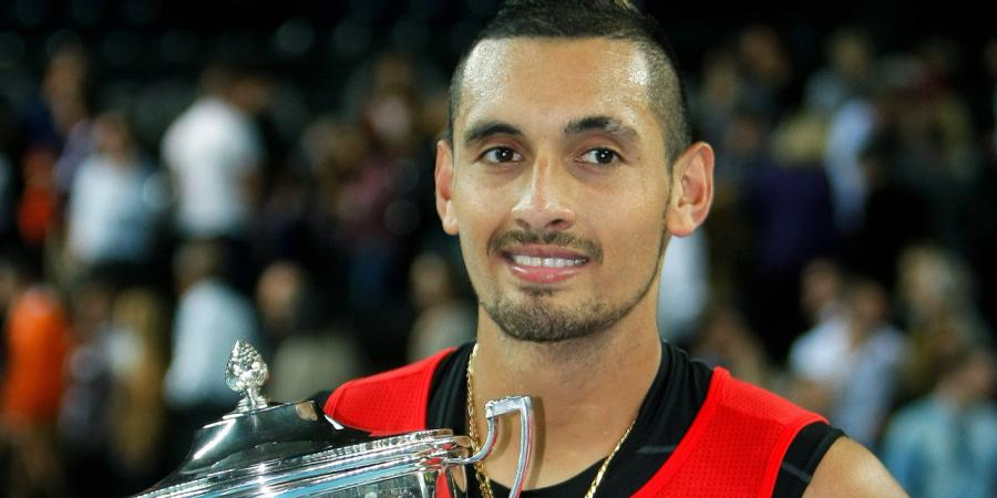 Kyrgios lands maiden ATP title