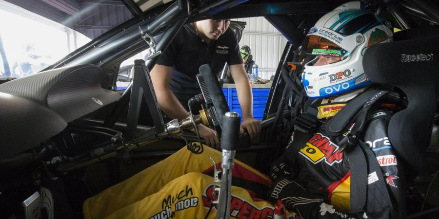Chaz Mostert 'comfortable' in V8s return