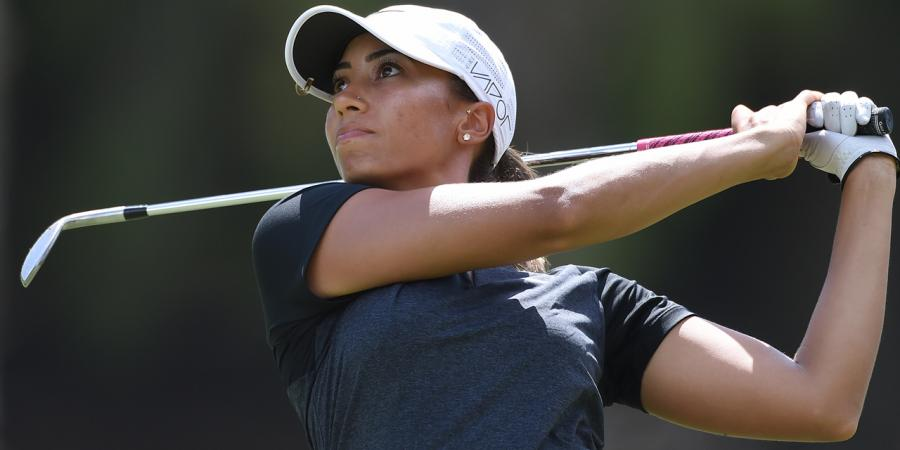 Three-way tie for ladies Masters golf lead