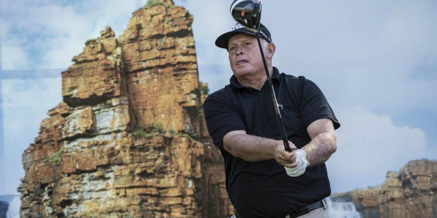 Senior sizzles at Perth golf event