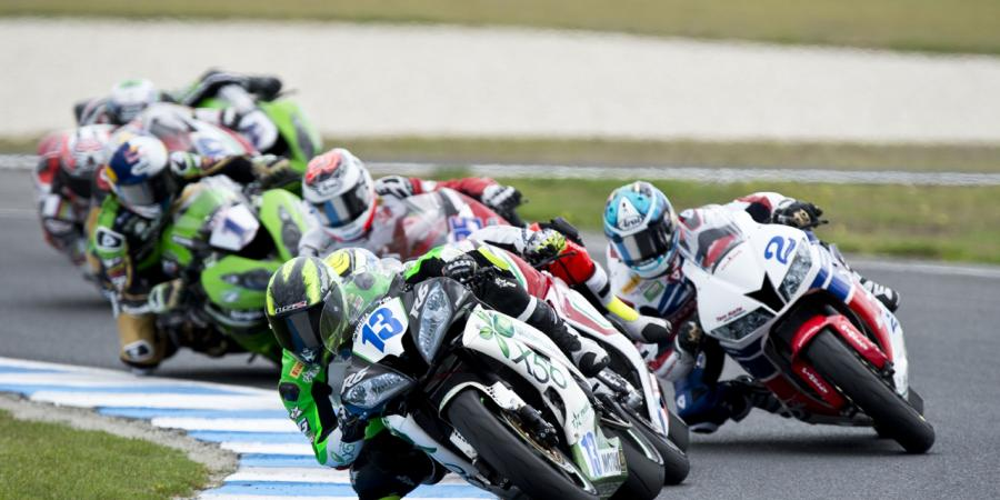 West third in Supersport race