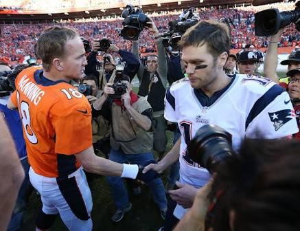 It's Manning vs. Brady 5.0 - but are they friends?