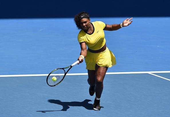 Serena Williams moving on at Aussie Open